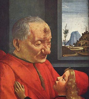 Rosazea (Knollennase/ Rhinophym) in der Kunstgeschichte