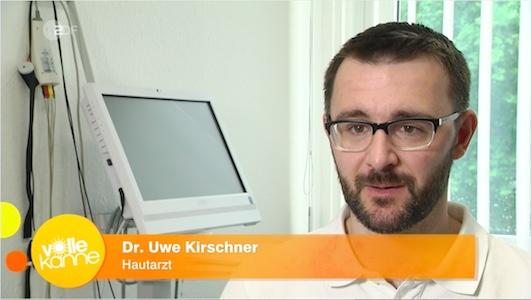 Hautarzt Dr. Kirschner im ZDF zum Thema Tränensäcke