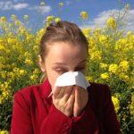 Pollenallergie Symbolbild