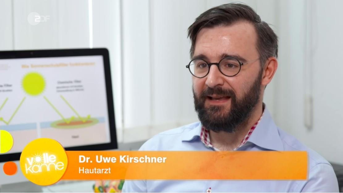 Hautarzt Dr. Kirschner bei Volle Kanne ZDF zu Sonnenschutz für Kinder